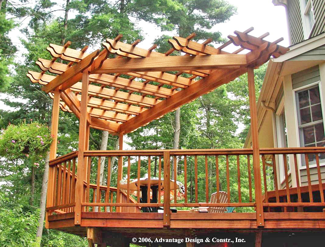 What is a Pergola and Why would your Deck want one? – Suburban Boston Decks  and Porches blog - What Is A Pergola And Why Would Your Deck Want One? – Suburban